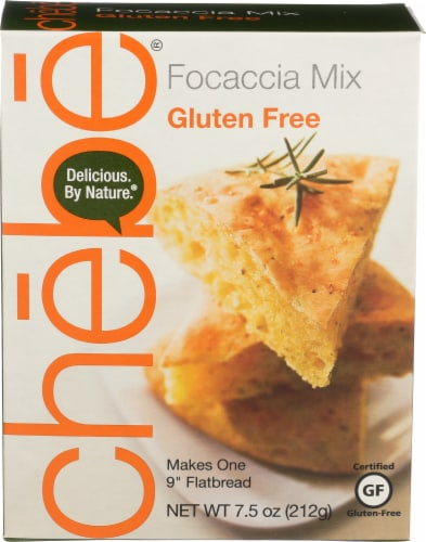 Chebe Gluten Free Focaccia Mix Perspective: front