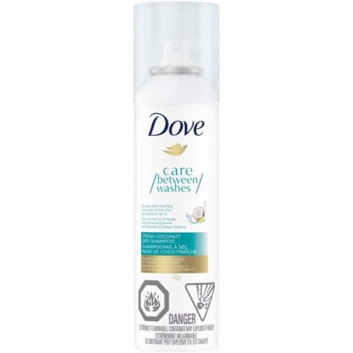 Dove Dry Shampoo Fresh Coconut 142 g Perspective: front