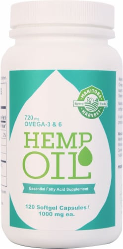 Manitoba Harvest  Hemp Oil Perspective: front