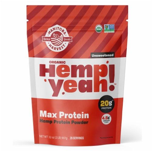Manitoba Harvest Hemp Pro 70 Protein Supplements Perspective: front