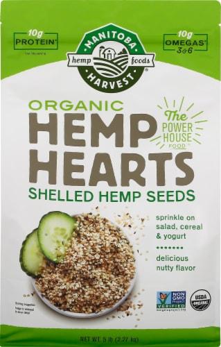 Manitoba Harvest Organic Hemp Hearts Perspective: front