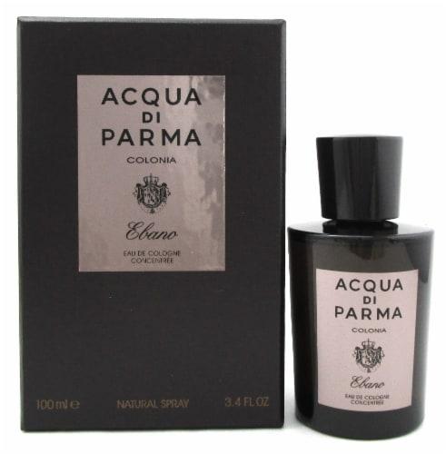 Acqua di Parma Colonia Ebano 3.4 oz. Eau de Cologne Concentree Spray. New in Box Perspective: front