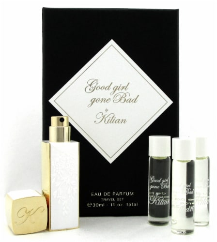 Good Girl Gone Bad by Kilian 4 x 7.5 ml. EDP Travel Set for Women.New Sealed Box Perspective: front
