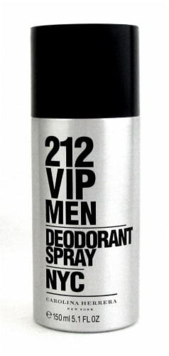212 VIP Men by Carolina Herrera Deodorant Spray 5.1 oz./ 150 ml. New Perspective: front