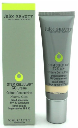 Juice Beauty Stem Cellular CC Cream SPF 30 Natural Glow 50 ml./ 1.7 oz. New in Box Perspective: front