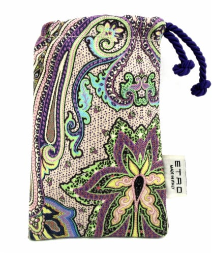 ETRO Cosmetic Make Up Fabric Pouch Made in Italy. Brand new Perspective: front