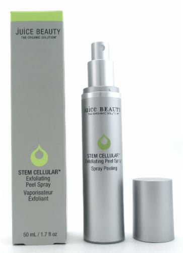 Juice Beauty Stem Cellular Exfoliating Peel Spray 1.7 oz./ 50 ml. New in Box Perspective: front