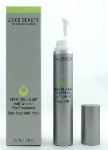 Juice Beauty Stem Cellular Anti-Wrinkle Eye Treatment 15 ml./ 0.5 oz. New in Box Perspective: front