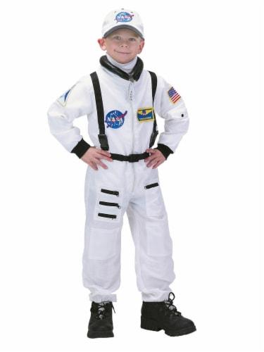 Seasons Children's Large Astronaut Jumpsuit Costume Perspective: front