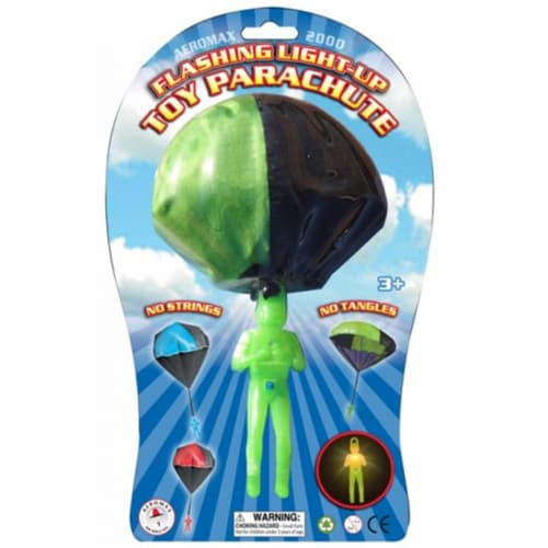 Aeromax A-LUP Lashing Light-Up Tangle Free Toy Parachute Perspective: front
