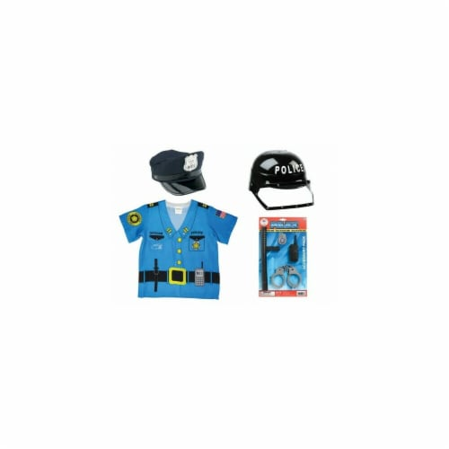 Aeromax My First Career Costume Bundle, Police Officer Perspective: front