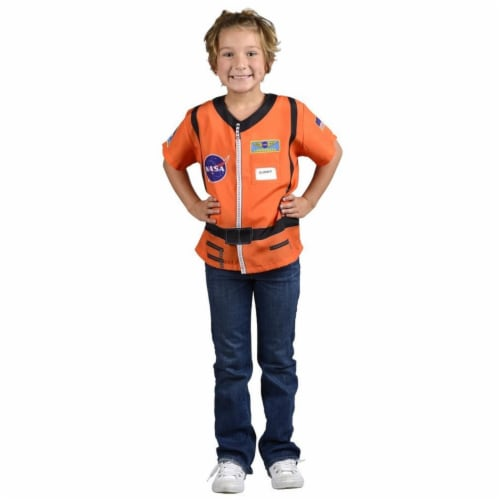 Aeromax TASO My 1st Career Gear Astronaut - Orange, Ages 3-6 Perspective: front