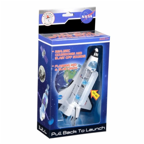 Aeromax PBSB Pull Back Space Shuttle with Lights & Sound Perspective: front