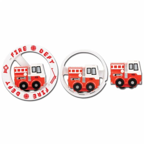 Aeromax WFR-B Wheely Fun Rollers, Fire Engine Perspective: front