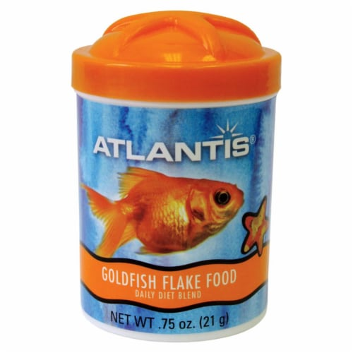 Omega One 8103814 0.42 oz Seafood Flakes Fish Food Perspective: front