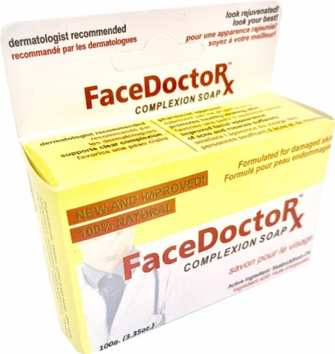 Face Doctor Complexion Soap Perspective: front