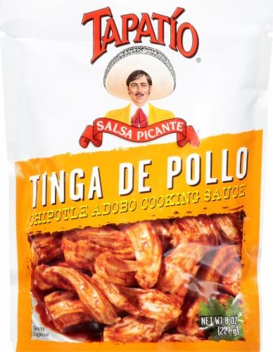 Tapatio Tinga de Pollo Chipotle Adobo Cooking Sauce Perspective: front