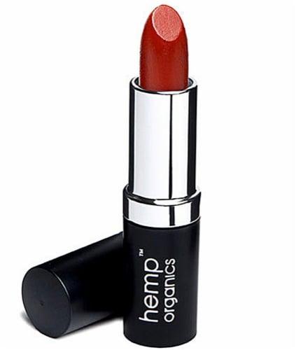 Colorganics  Hemp Organics Cayenne Lipstick Perspective: front