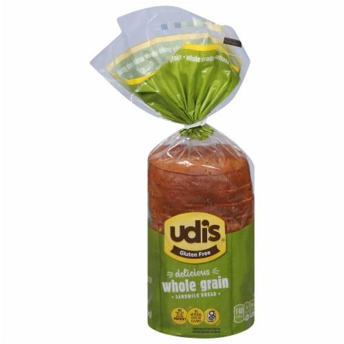 Udi's Gluten Free Whole Grain Bread Perspective: front