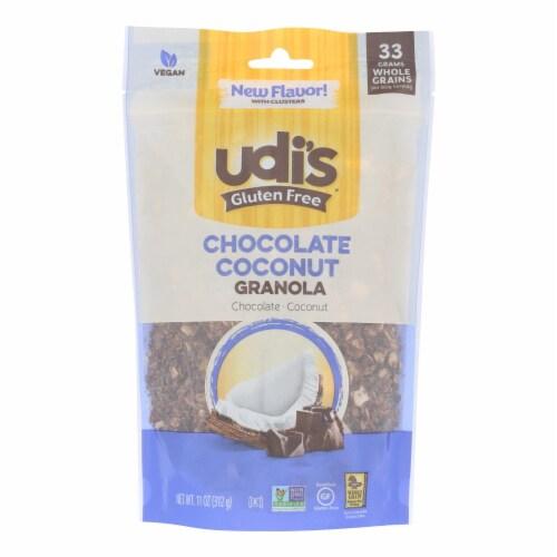Udi's Chocolate Coconut Granola - Case of 6 - 11 OZ Perspective: front