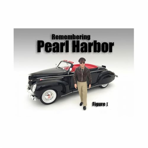 American Diorama 77472 1 by 24 Scale Remembering Pearl Harbor Figure I Perspective: front