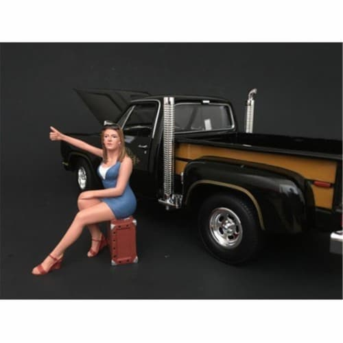 American Diorama 77506 1970s Style Figure VI for 1 isto 24 Scale Models Perspective: front