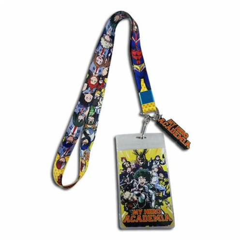My Hero Academia Class 1-A ID Holder Lanyard Perspective: front