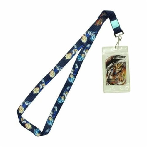 Dragon Ball Fighterz Vegeta Lanyard Perspective: front