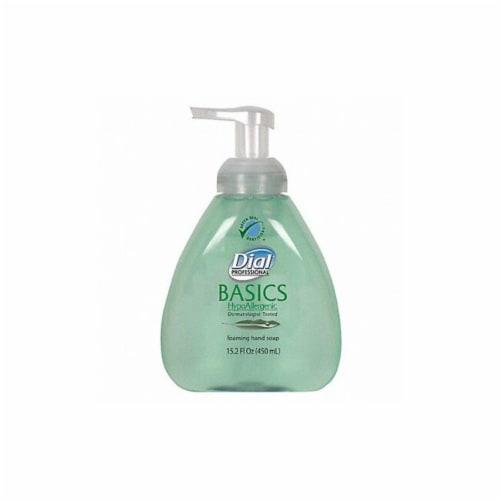 Dial Foam Hand Soap,15.2 oz.,Honeysuckle,PK4  98609 Perspective: front