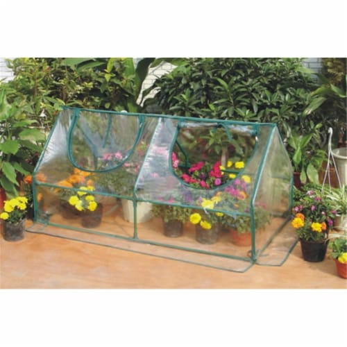 Zenport SH3212A-10PK Garden Cold Frame Greenhouse Cloche, Box of 10 Perspective: front