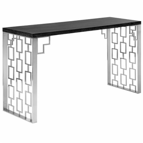 Armen Living Skyline Console Table Perspective: front