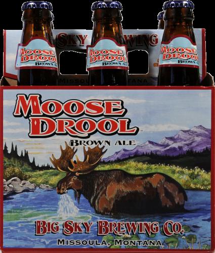 Big Sky Brewing Company Moose Drool Brown Ale Perspective: front