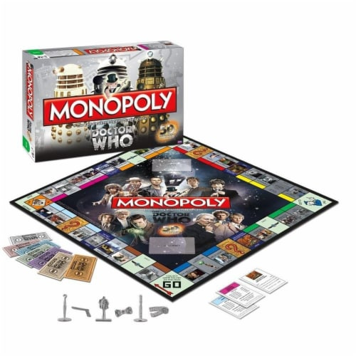 Monopoly Doctor Who Collector's Edition Boardgame Perspective: front