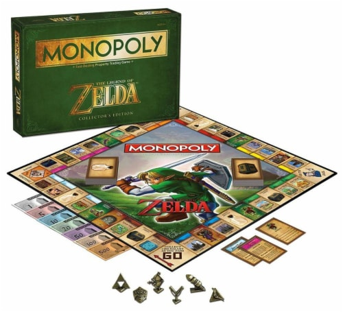 Monopoly Legend Of Zelda Collector's Edition Boardgame Perspective: front
