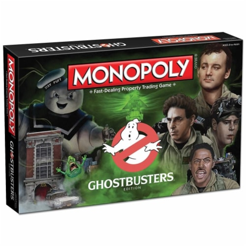 Ghostbusters Collector's Edition Monopoly Board Game Perspective: front