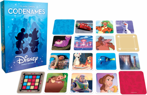 Czech Games Codenames: Disney Family Edition Perspective: front
