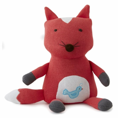 The Little Acorn F14P03 Fox Toothfairy Pillow Perspective: front