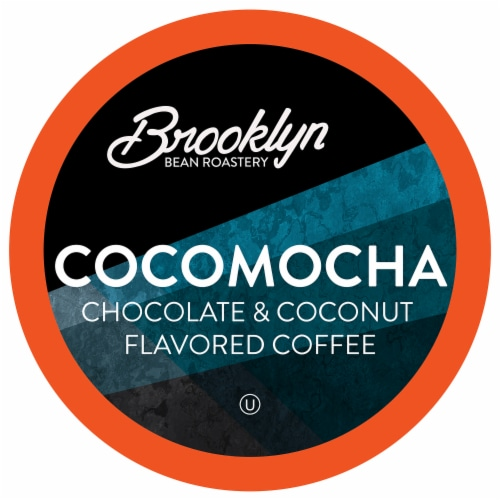 Brooklyn Beans Cocomocha Coffee Pods, Compatible with 2.0 K-Cup Brewers, 40 Count Perspective: front