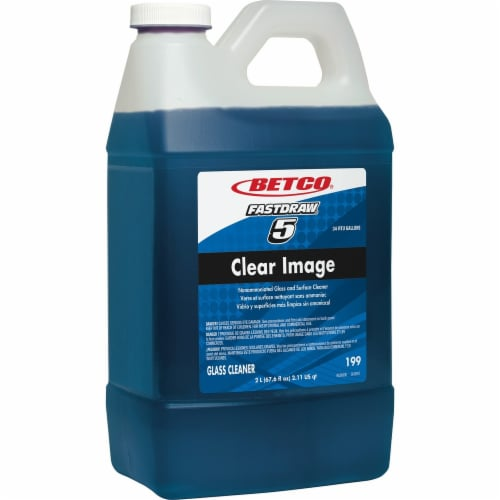 Betco Clear Image Non-Ammoniated Glass & Surface Concentrate - 4/CS, 2L - Rain F Perspective: front