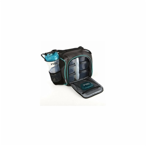 Medport Fit & Fresh Teal Jaxx Portion Control Container Perspective: front