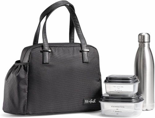 Fit and Fresh Professional Laketown Lunch Kit - Black Perspective: front