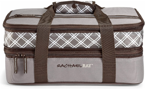 Rachael Ray Expandable Lasagna Lugger Perspective: front
