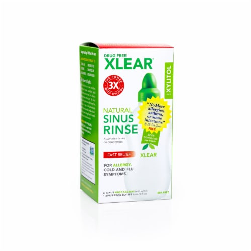 Xlear Sinus Rinse Kit Perspective: front