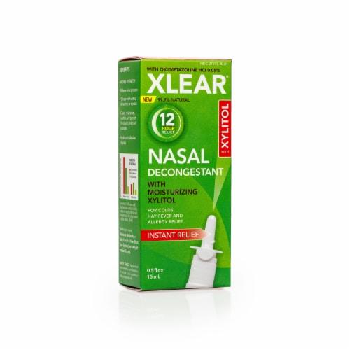 Xlear 12 Hour Nasal Decongestant Perspective: front