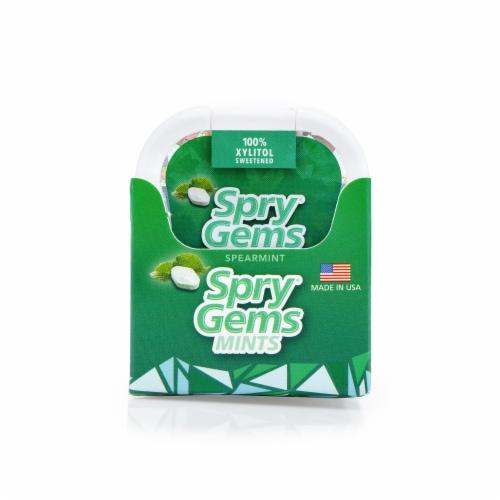 Spry Spearmint Gems Mints Perspective: front