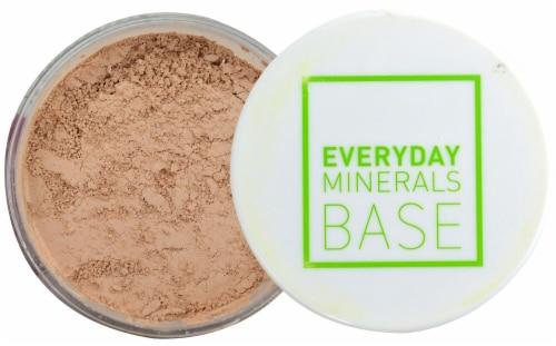 Everyday Minerals 4W Semi Matte Golden Medium Base Perspective: front