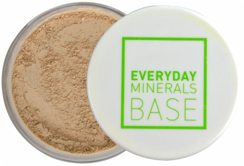 Everyday Minerals Golden Light Face Powder Perspective: front