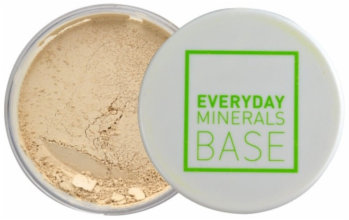 Everyday Minerals BASE 2N Semi Matte Foundation Perspective: front