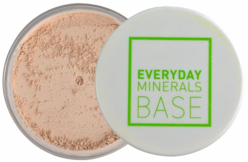 Everyday Minerals Rosy Light Matte Face Powder Perspective: front