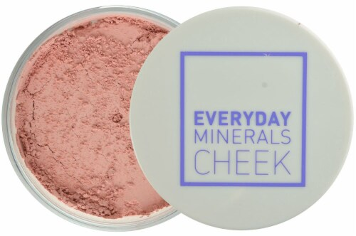 Everyday Minerals Peony Petal Blush Face Powder Perspective: front